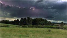Lightning over Dalswinton by Ewanmac, via Flickr