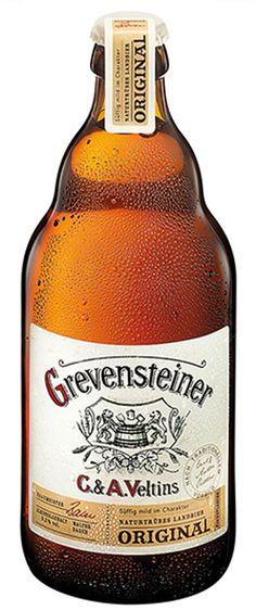 Grevensteiner Original (2016) / Cerveza alemana de tipo Kellerbier-Zwickelbier de color ambar mate / Alcohol 5,2% / BA SCORE 84 good -THE BROS - no score