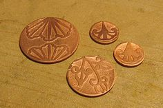 How to etch copper---for talismans and the like - Copperheart is one of my favorite blogs - great tutorials and beautiful work