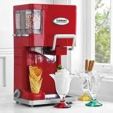 Soft-Serve Ice Cream Maker! Sprinkle dispensers and everything. I want this for my next birthday.