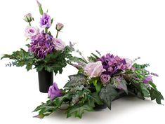 Sztuczne kwiaty na grób stroik + bukiet Kompozycja