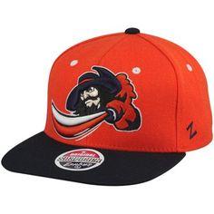 Zephyr Virginia Cavaliers Refresh Snapback Hat - Orange Navy Blue 41d028d83681