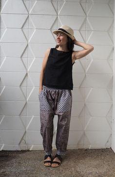 harem pants by Kate Carvalho   Project   Sewing / Pants & Shorts   Kollabora
