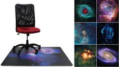 Put an Entire Galaxy Under Your Office Chair, very cool if you have $200.00