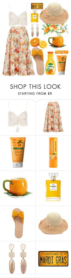"""""""Untitled #403"""" by mydntkrl ❤ liked on Polyvore featuring Topshop, Emilia Wickstead, Klorane, Chanel and Kate Spade"""