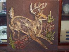 Deer String art $25 photo stringartdeer.jpg