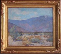 "Alson S. Clark | Alson Clark ""Mountain View, 1924"" 18.5 x 22 inches, oil on canvas .."