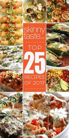 Top 25 Most Popular Skinnytaste Recipes 2017