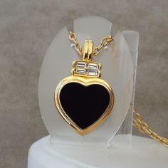 KJL Kenneth J Lane Heart Design Necklace, Excellent!