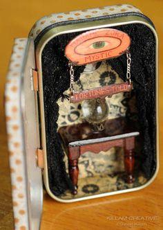 altoid tin crafts   Wicked Circus Altoid Tin Swap - PAPER CRAFTS, SCRAPBOOKING & ATCs ...