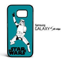 Star wars stormtrooper dance X3008 Samsung Galaxy S6 Edge Case