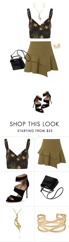"""""""Date Night"""" by miladyc ❤ liked on Polyvore featuring Vilshenko, 10 Crosby Derek Lam, Carvela, Stella & Dot and Lana"""