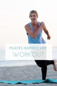 Pilates Inspired HIIT workout