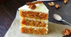 Обновленный рецепт. Самый вкусный морковный торт,который я пробовала. Попробуйте и вы!! Если нравится этот кусочек, идем читать рецепт)...