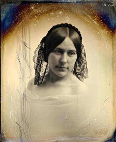 Portrait of a teenage girl, 1800's