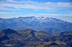 La Maladeta vista desde la cima del Mauberme, Val d'Aran