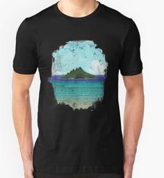"""Lost Island"" Classic T-Shirts by Lidra | Redbubble"