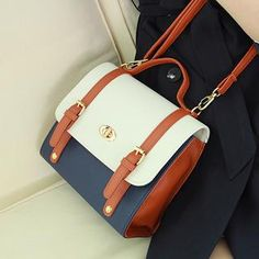 Buy 'Dodostyle – Faux-Leather Color-Block Tote with Crossbody Strap' with Free International Shipping at YesStyle.com. Browse and shop for thousands of Asian fashion items from South Korea and more!