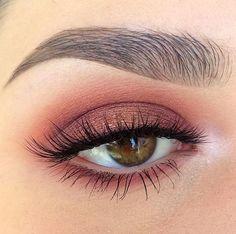 Anti Smoky Eye Makeup | A New Trend that Who Want to Reach a Beauty Pink Eye Makeup Looks, Smoky Eye Makeup, Make Makeup, Natural Eye Makeup, Prom Makeup, Skin Makeup, Wedding Makeup, Makeup Eyebrows, Simple Makeup