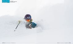 photo: BRUNO LONG * skier: Elysee Saugstad * snow: Selkirk Mountains, BC