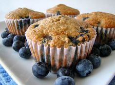 High Protein, High Fiber Blueberry Muffins Recipe - Food.com