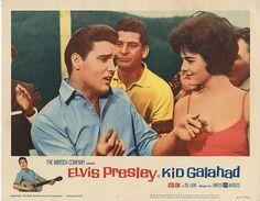 Lobby Card from the Elvis Presley film Kid Galahad