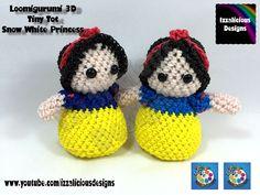 Loomigurumi Snow White Tiny Tot Princess Figure - hook only - amigurumi ...