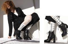 O frio voltou! Dicas de looks para usar com diferentes modelos de meias