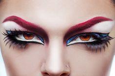 High Fashion Close Up Face Creative Makeup on Behance