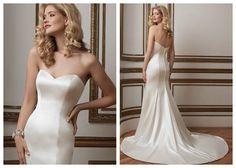 Свадебные платья из шелка Justin Alexander