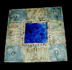 Tile by Ferreira da Silva - SECLA. Us Sailing, Spain And Portugal, Mosaic Tiles, Pottery Art, Mystic, Frame, How To Make, Vintage, Home Decor