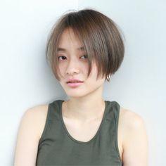 Japanese Short Hair, Asian Short Hair, Girl Short Hair, Short Hair Cuts, Cut My Hair, Her Hair, Hair Inspo, Hair Inspiration, Inspo Cheveux
