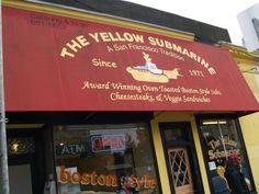 3. Hot Pastrami Submarine Sandwich (The Yellow Submarine)