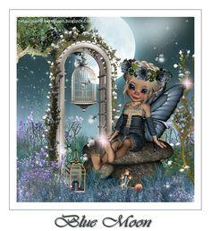 Meine Bastelwelt : Blue Fairytale (928×1015)