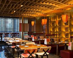 Yellow Tail Sushi Bar at VIE Hotel by Rockwell Group http://interior-design-news.com/2015/01/22/yellow-tail-sushi-bar-at-vie-hotel-by-rockwell-group/