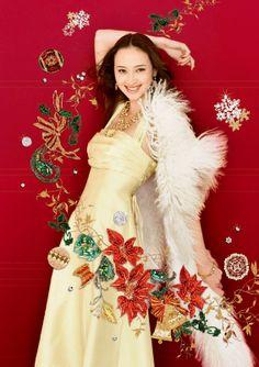 全国松坂屋「クリスマス」広告2006 / 広告 - WORKS|清川あさみ|ASAMI KIYOKAWA INC.