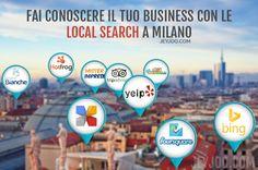 Come e dove iscriversi per classificarsi tra i primi sulle ricerche locali. Un elenco di siti web che offrono servizi di geo-localizzazione.