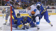 Кубок мира по хоккею. Шведы выиграли у сборной Финляндии   24инфо.рф