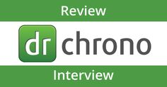 All In One healthcare software! DrChrono iPad EHR Review & Interview - Moblized