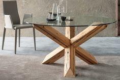 meuble-salon-design-bois-massif-verre http://designmag.fr/