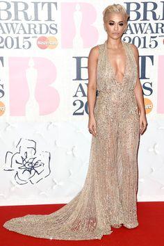 Rita Ora In Zuhair Murad 2015
