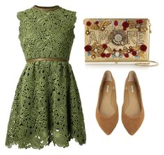 """""""Outfit #625"""" by novemberdelane ❤ liked on Polyvore featuring moda, Valentino, Dolce&Gabbana, Max Studio y vintage"""