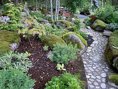 Teckenbergs garden, Sweden
