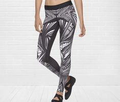Nike designs for women's tights/sports bra. Nice patterns inspired ...