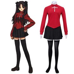 Rin is a model student and idol of Shirō's school. She barely talks to other students in her school and exhibits a desire to be left alone, as exemplified by her tendency to stay on the school's rooftop, away from the rest of the students. She is also secretly a Magus, and a Master in the Fifth Holy Grail War.