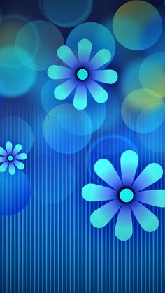 no rain no flowers Blue Flower Wallpaper, Lit Wallpaper, Unique Wallpaper, Pattern Wallpaper, Cool Backgrounds, Wallpaper Backgrounds, Flower Frame, Flower Art, Light Blue Flowers