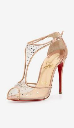 d602a5dda85fb Patinana Strass Red Sole Sandal