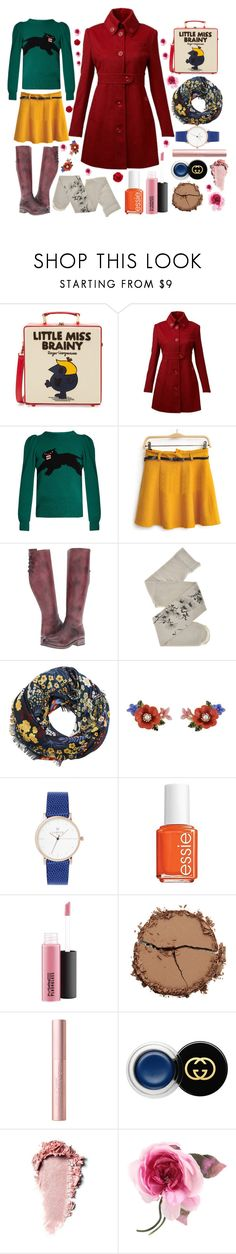"""""""My winter dream of spring"""" by ferretsmither ❤ liked on Polyvore featuring Olympia Le-Tan, Full Circle, Gucci, Bed