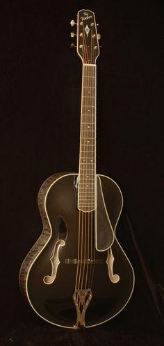 Weber Black Ice Archtop Guitar.