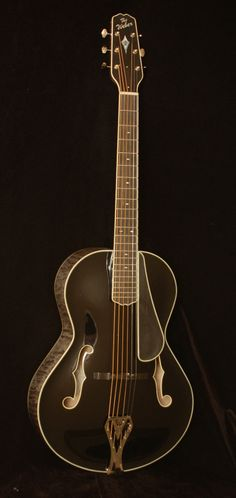 Weber Black Ice Archtop Guitar.